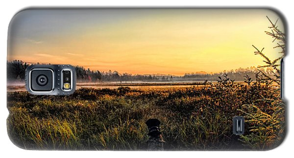 Sharing A September Sunrise With A Retriever Galaxy S5 Case