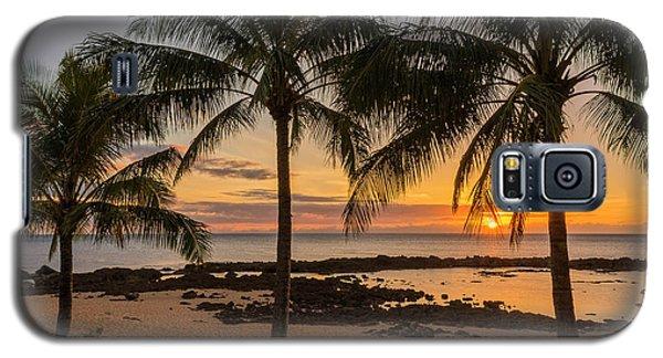 Sharks Cove Sunset 4 - Oahu Hawaii Galaxy S5 Case