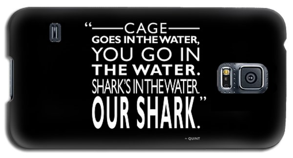 Sharks In The Water Galaxy S5 Case
