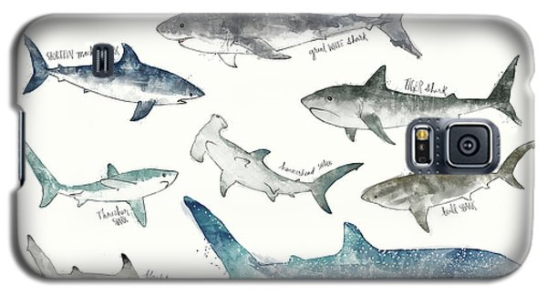 Sharks - Landscape Format Galaxy S5 Case