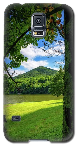 Sharp Top Through The Trees Galaxy S5 Case