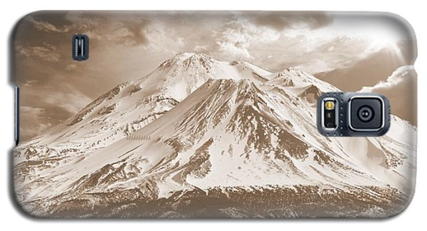 Galaxy S5 Case featuring the photograph Shasta Mt by Athala Carole Bruckner