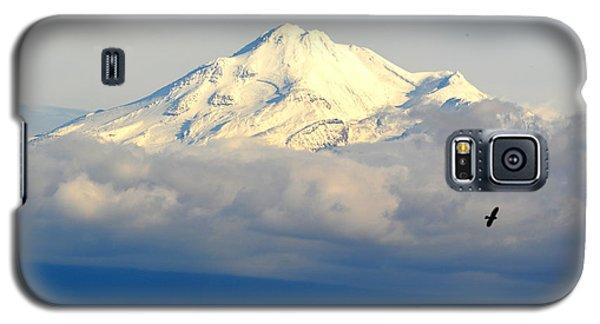 Shasta Near Sunset Galaxy S5 Case by AJ Schibig