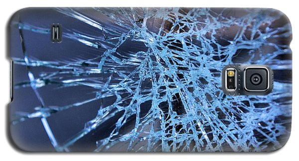 Shattered Glass In Color Galaxy S5 Case