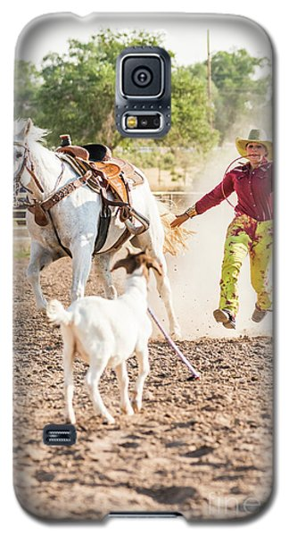 Shawnee Sagers Goat Roping Competition Galaxy S5 Case