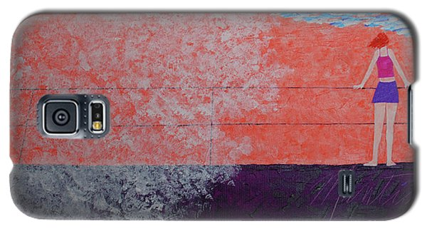 The Beach At Sunset Galaxy S5 Case