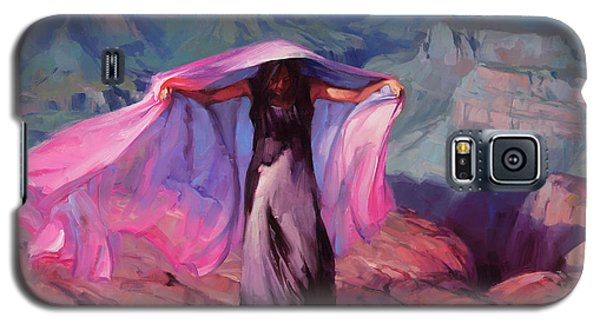 Grand Canyon Galaxy S5 Case - She Danced By The Light Of The Moon by Steve Henderson