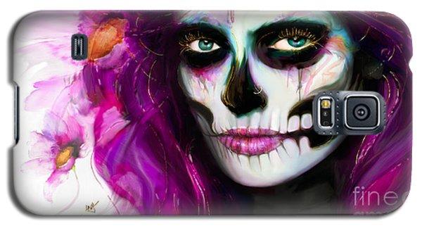 She, Dia De Los Muertos Galaxy S5 Case