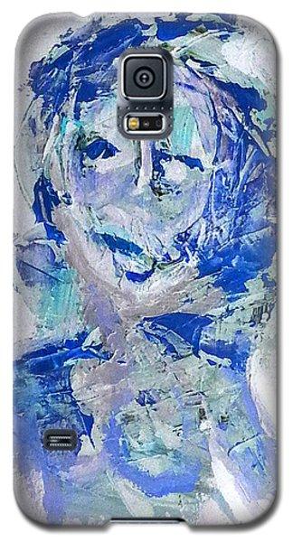 She Dreams In Blue Galaxy S5 Case