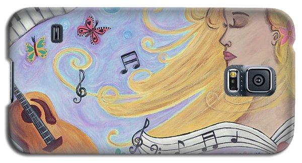 She Dreams In Music Galaxy S5 Case