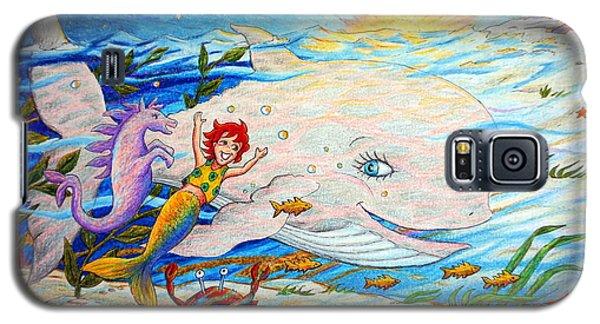 She Joyfully Swims  Galaxy S5 Case