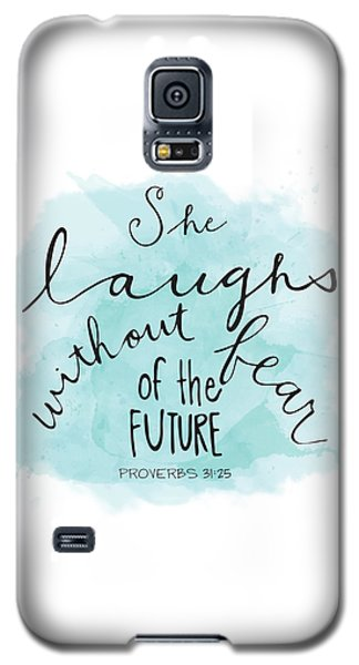 She Laughs Galaxy S5 Case