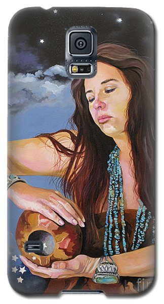 She Paints With Stars Galaxy S5 Case