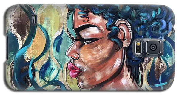 Galaxy S5 Case - She Was A Cool Flame by Artist RiA