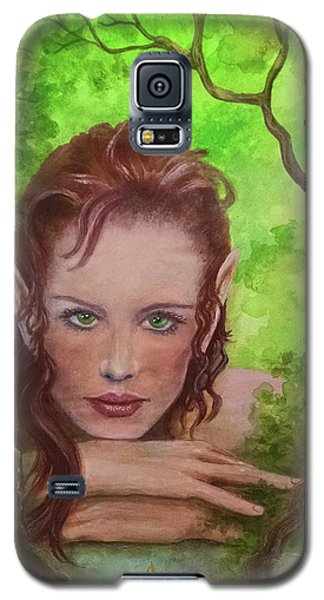 She Watches Through The Veil Galaxy S5 Case