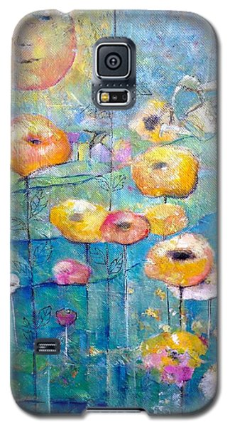 Galaxy S5 Case featuring the painting She Who Waters by Eleatta Diver
