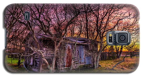 Shed And Sunset Galaxy S5 Case by Micah Goff
