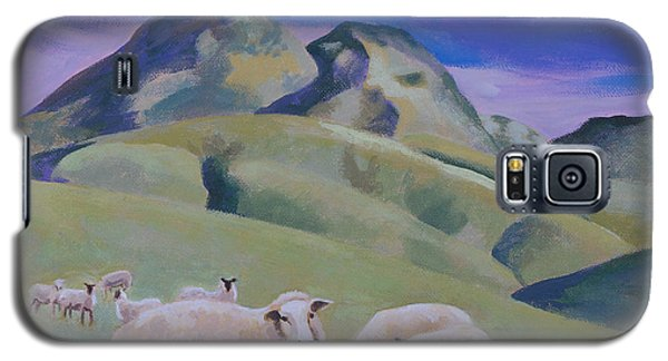 Sheep At Sutter Buttes Galaxy S5 Case