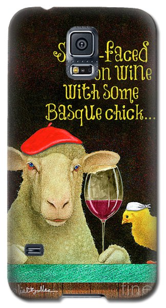 sheep-faced on wine with some Basque chick... Galaxy S5 Case