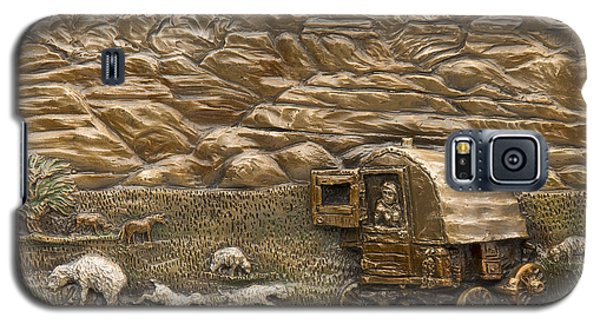 Sheep Herder's Wagon Galaxy S5 Case
