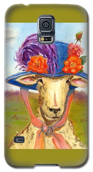 Sheep In Fancy Hat Galaxy S5 Case by Susan Thomas