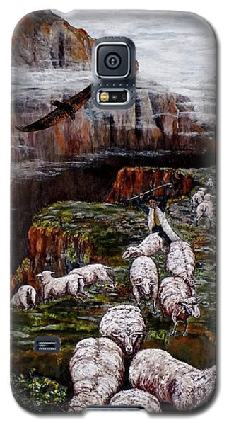 Sheep In The Mountains  Galaxy S5 Case