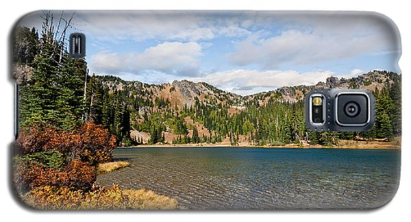 Galaxy S5 Case featuring the photograph Sheep Lake In The Fall by Jeff Goulden