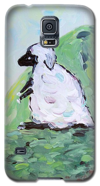 Sheep On A Hill Galaxy S5 Case