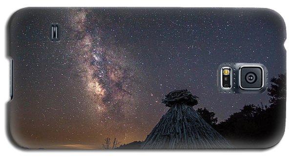 Sheepfold Under The Stars Galaxy S5 Case