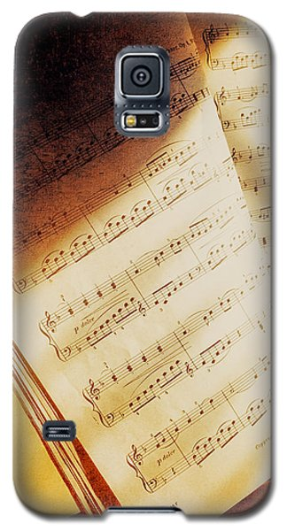 Sheet Music Galaxy S5 Case by Eleanor Abramson