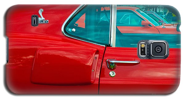Red Shelby Mustang Side View Galaxy S5 Case