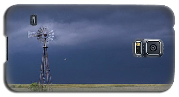 Shelf Cloud And Windmill -02 Galaxy S5 Case