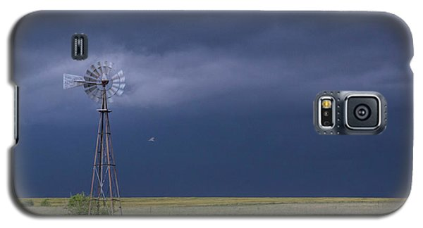 Shelf Cloud And Windmill -02 Galaxy S5 Case