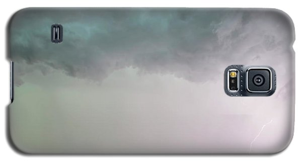Shelf Cloud And Windmill -05 Galaxy S5 Case by Rob Graham