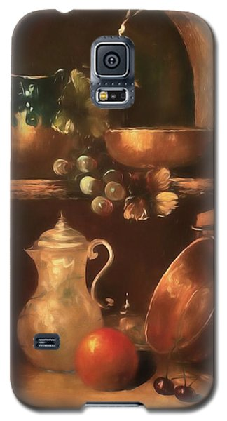 Galaxy S5 Case featuring the photograph Shelf Life 2 by Donna Kennedy