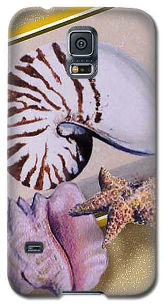 Shell Collage Galaxy S5 Case