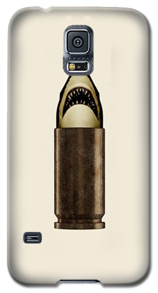 Galaxy S5 Case - Shell Shark by Nicholas Ely