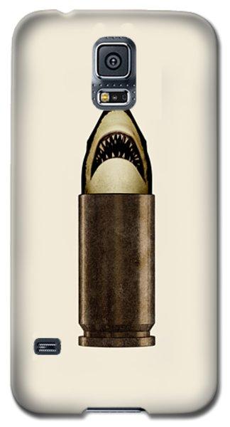 Shell Shark Galaxy S5 Case by Nicholas Ely