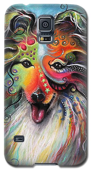 Sheltie  Galaxy S5 Case by Patricia Lintner