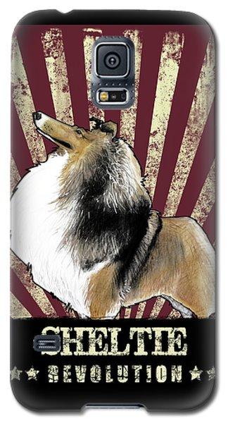 Sheltie Revolution Galaxy S5 Case