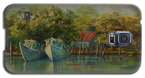 Shem Creek Boats Galaxy S5 Case