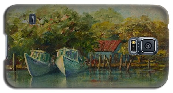Shem Creek Boats Galaxy S5 Case