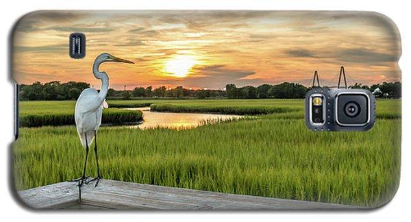 Shem Creek Pier Sunset Galaxy S5 Case
