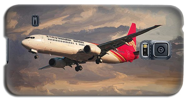 Shenzhen Airlines Boeing 737-900 Landing Galaxy S5 Case