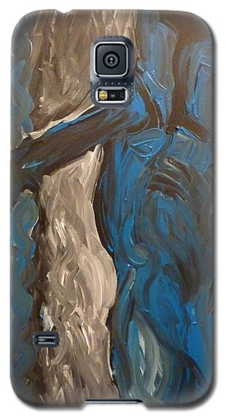 Galaxy S5 Case featuring the painting Shepherd by Joshua Redman