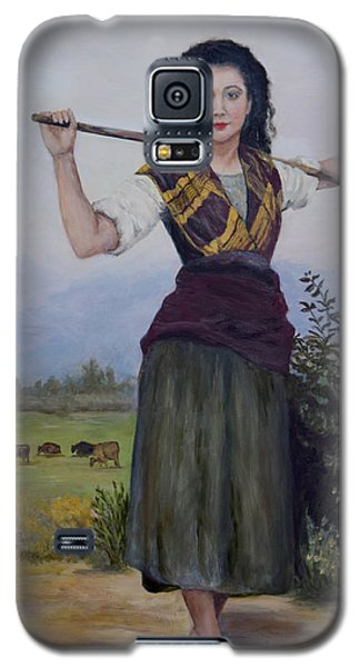 Shepherdess Galaxy S5 Case by Sandra Nardone