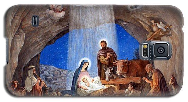 Shepherds Field Nativity Painting Galaxy S5 Case