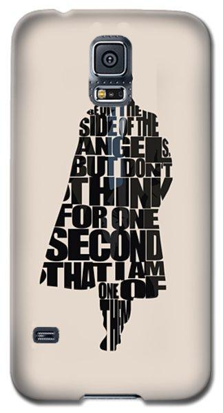 Sherlock - Benedict Cumberbatch Galaxy S5 Case