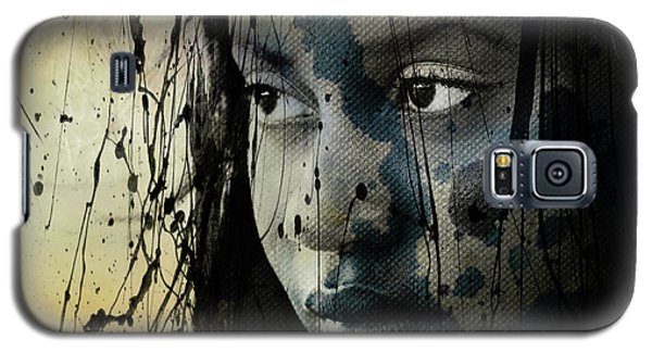 Galaxy S5 Case featuring the mixed media She's Out Of My Life  by Paul Lovering