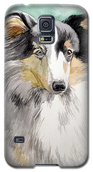 Shetland Sheep Dog Galaxy S5 Case